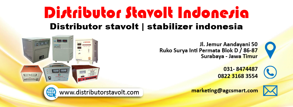 Distributor Stavolt | Stabilizer Indonesia